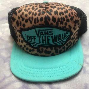 💕Women's vans SnapBack hat with mesh back